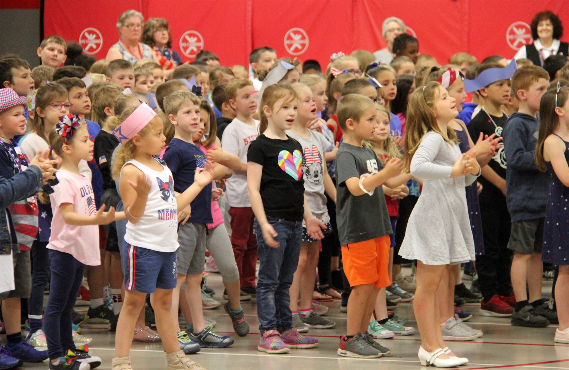 Port Dickinson Elementary Flag Day Ceremony Photo 23