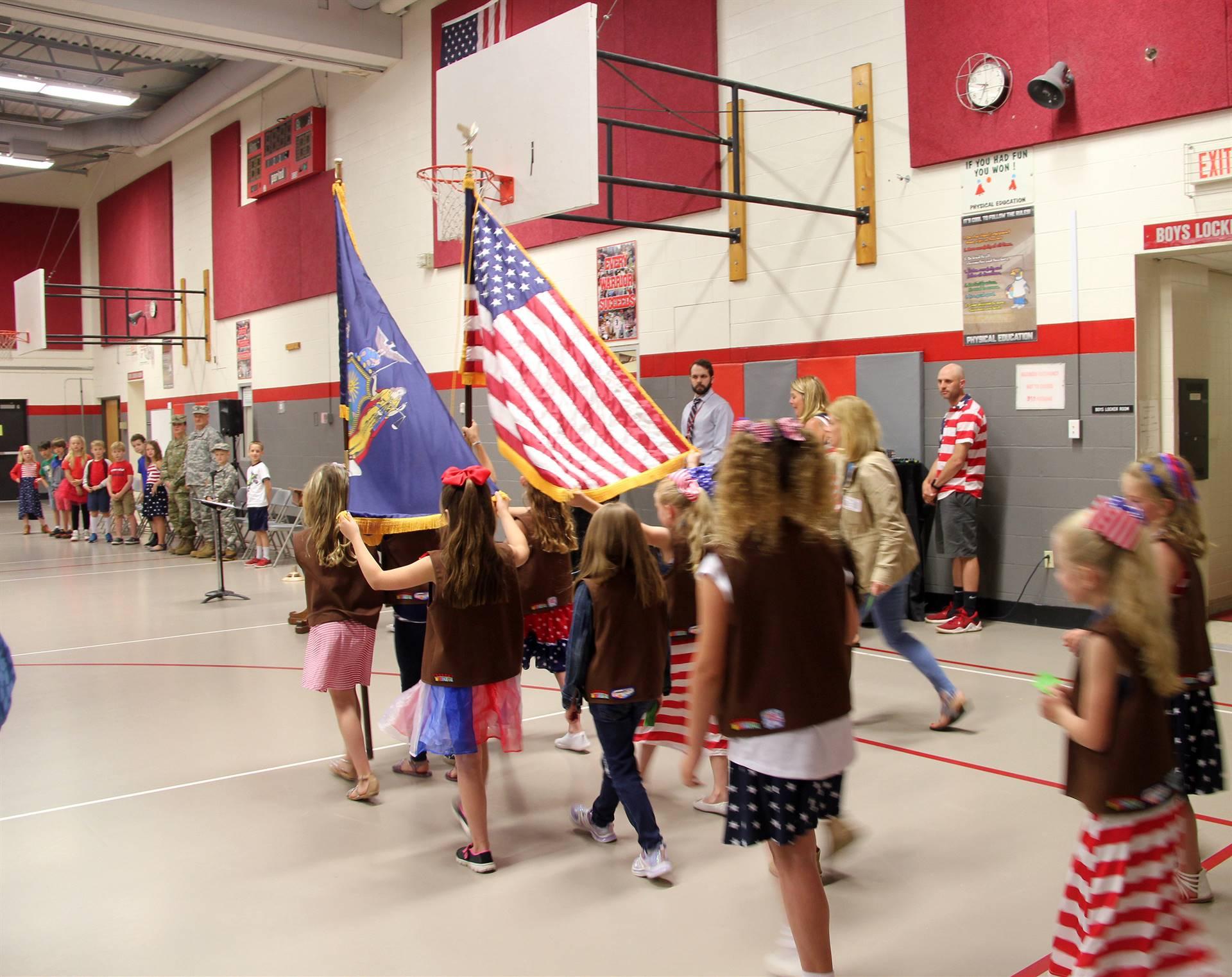 Port Dickinson Elementary Flag Day Ceremony Photo 4