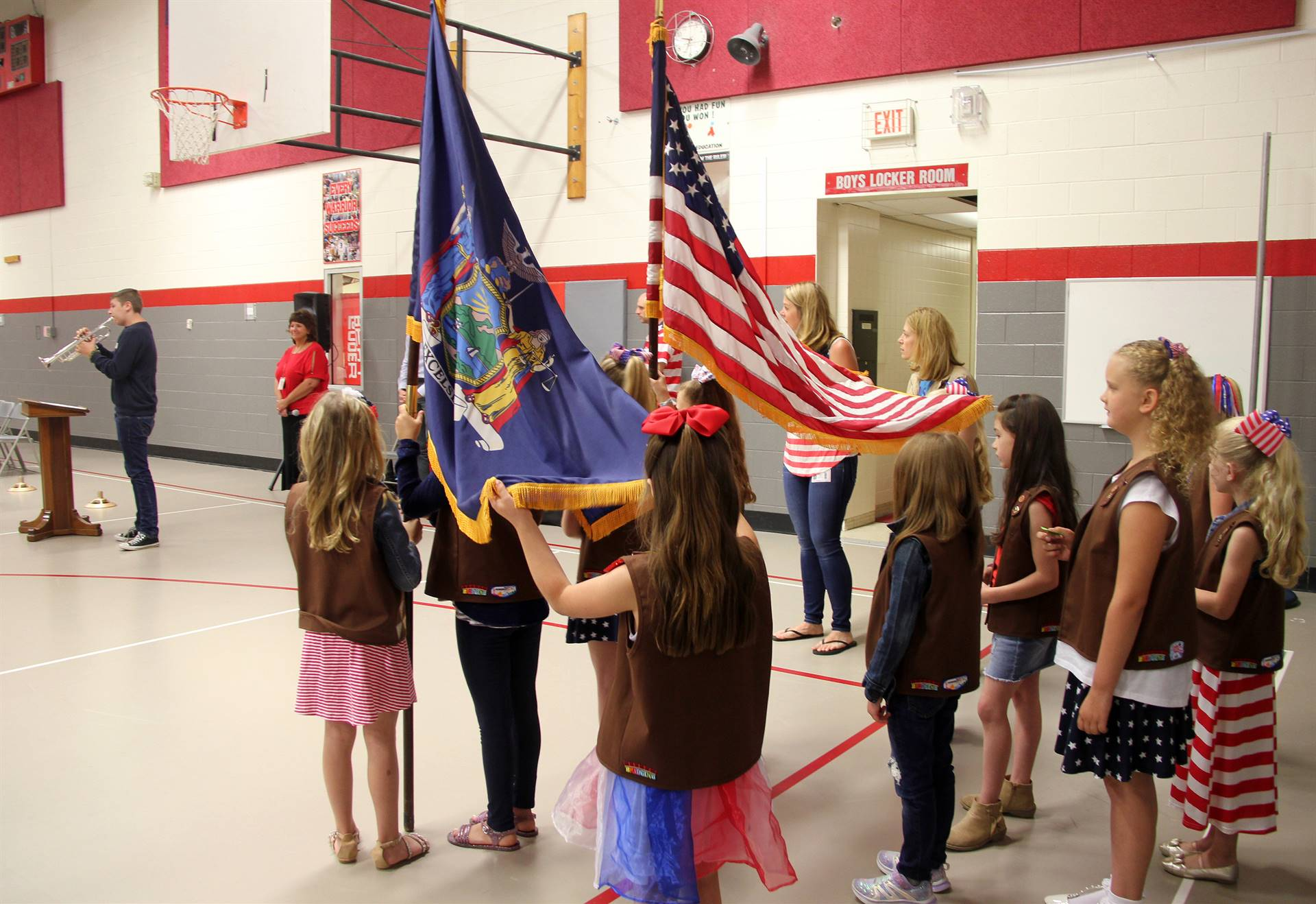 Port Dickinson Elementary Flag Day Ceremony Photo 3