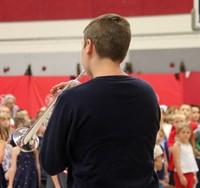 Port Dickinson Elementary Flag Day Ceremony Photo 2