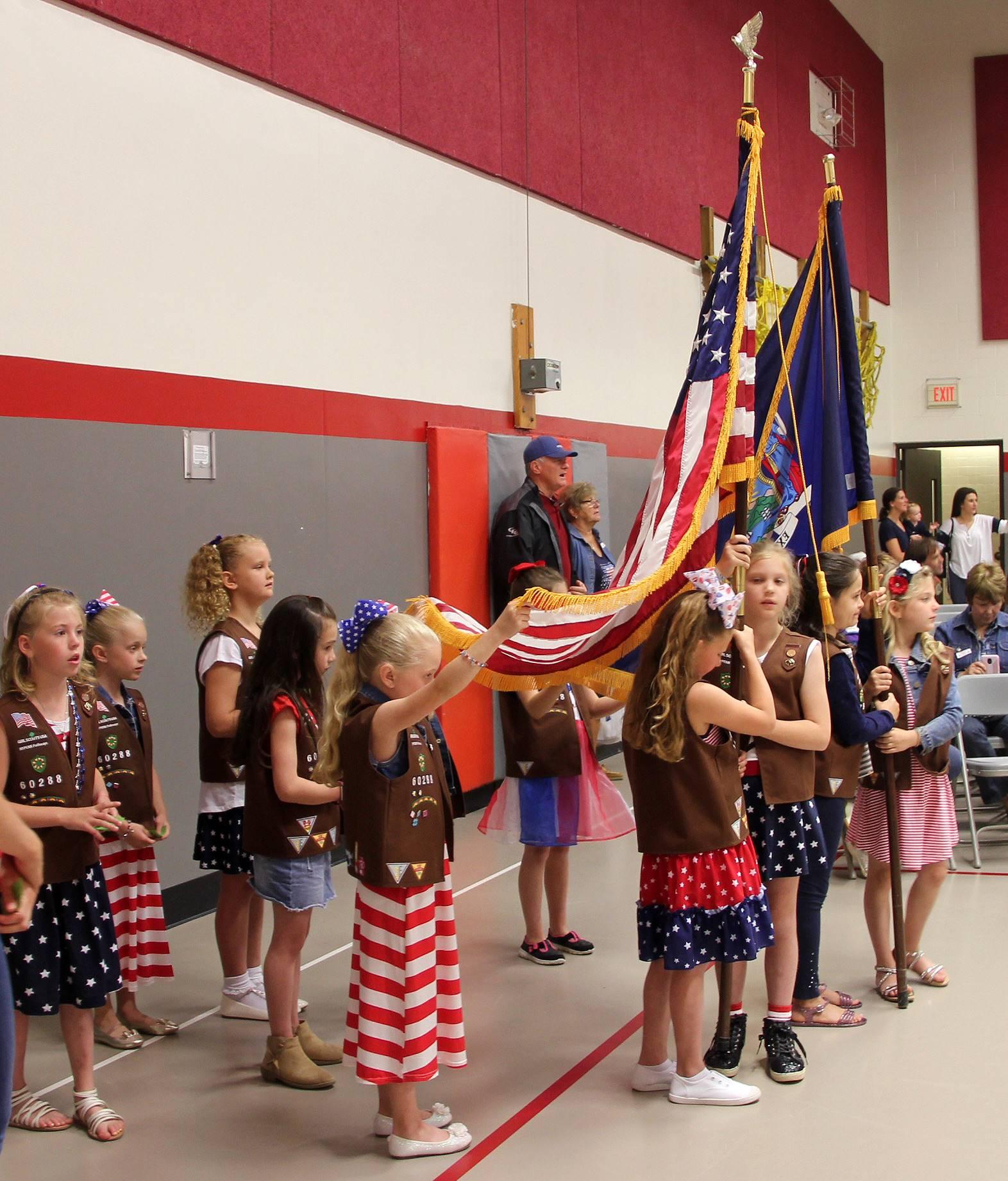 Port Dickinson Elementary Flag Day Ceremony Photo 1