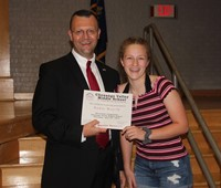 Eighth Grade Moving Up Ceremony 142