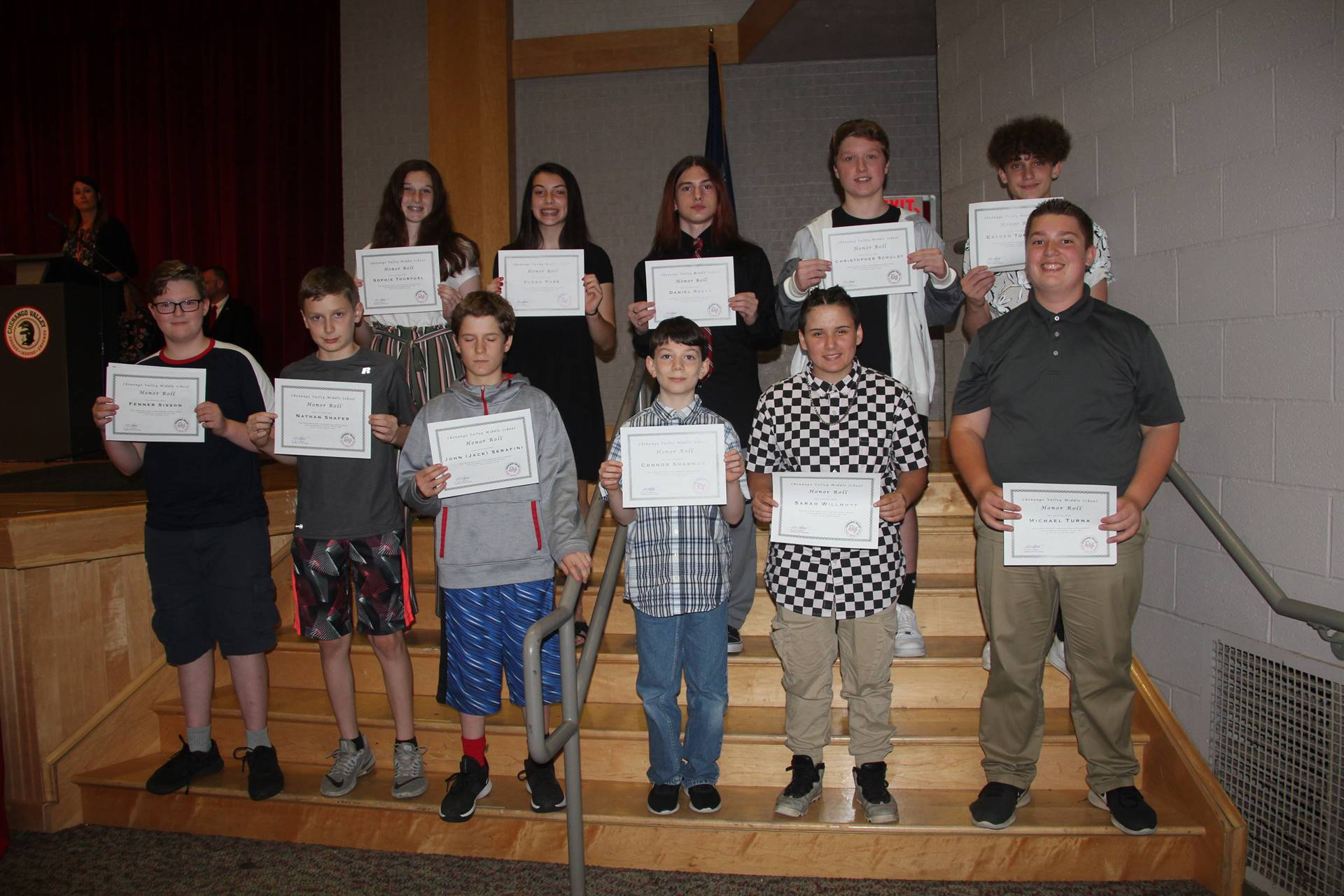 Eighth Grade Moving Up Ceremony 36