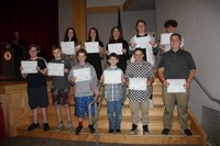 Eighth Grade Moving Up Ceremony 35