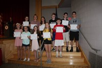 Eighth Grade Moving Up Ceremony 32