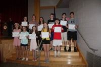 Eighth Grade Moving Up Ceremony 31
