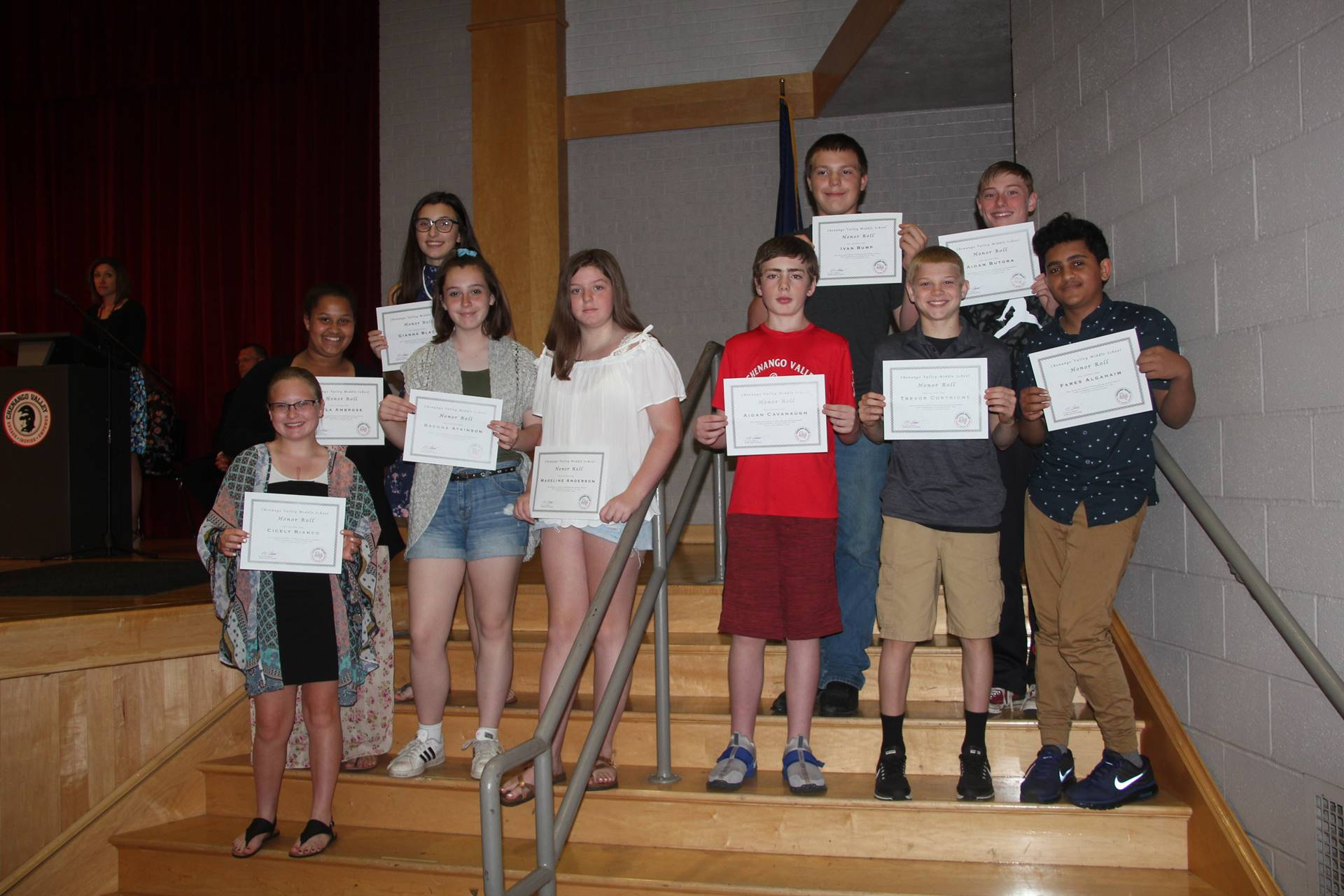 Eighth Grade Moving Up Ceremony 30