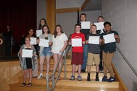 Eighth Grade Moving Up Ceremony 29