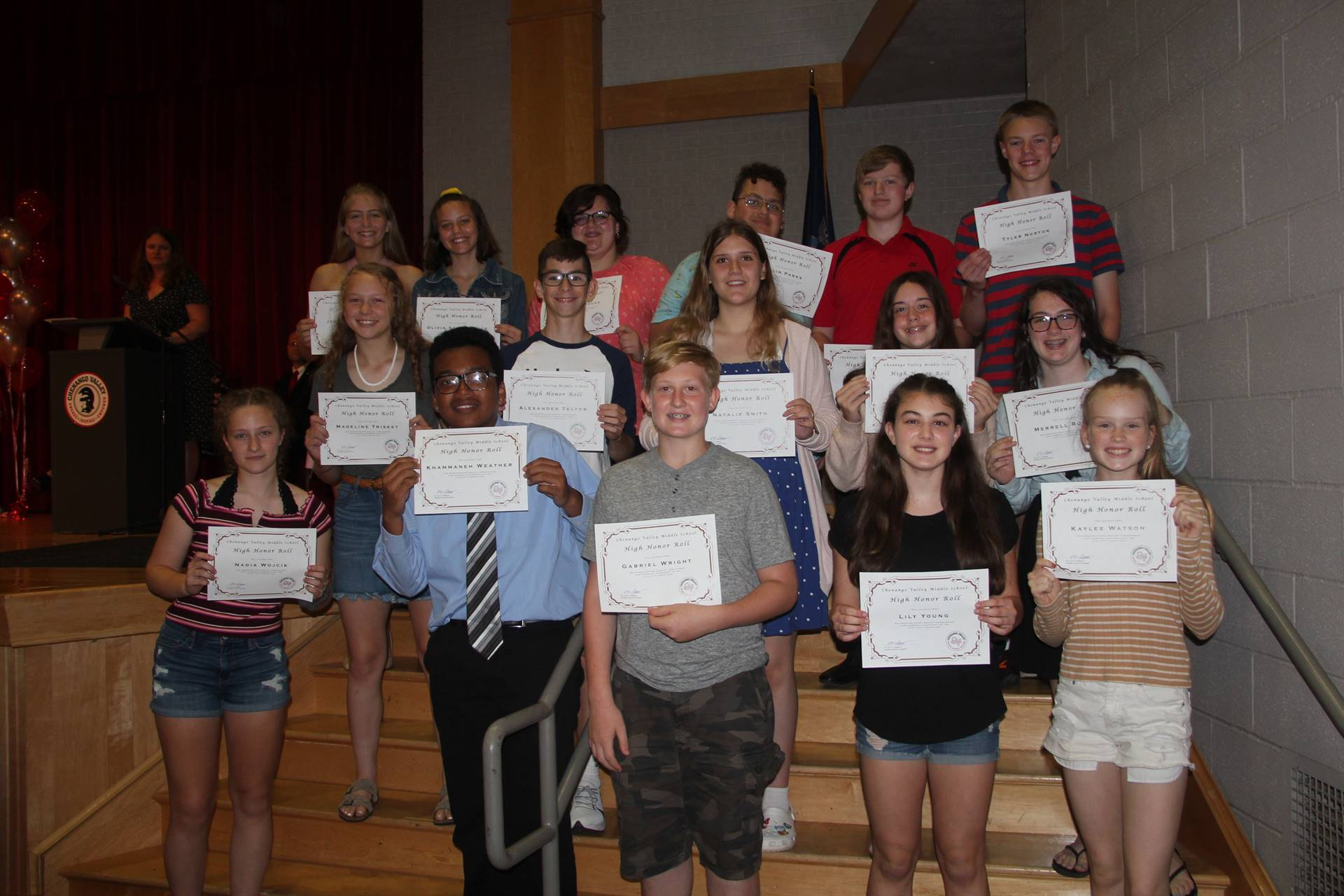 Eighth Grade Moving Up Ceremony 27