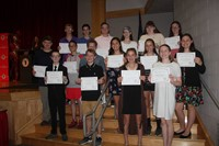 Eighth Grade Moving Up Ceremony 26