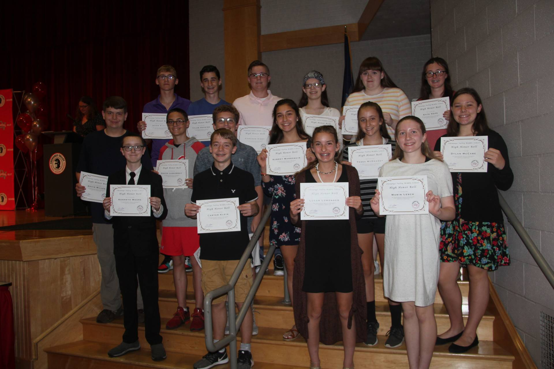 Eighth Grade Moving Up Ceremony 25