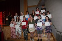 Eighth Grade Moving Up Ceremony 24