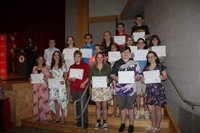 Eighth Grade Moving Up Ceremony 23