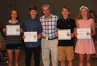 Eighth Grade Moving Up Ceremony 17