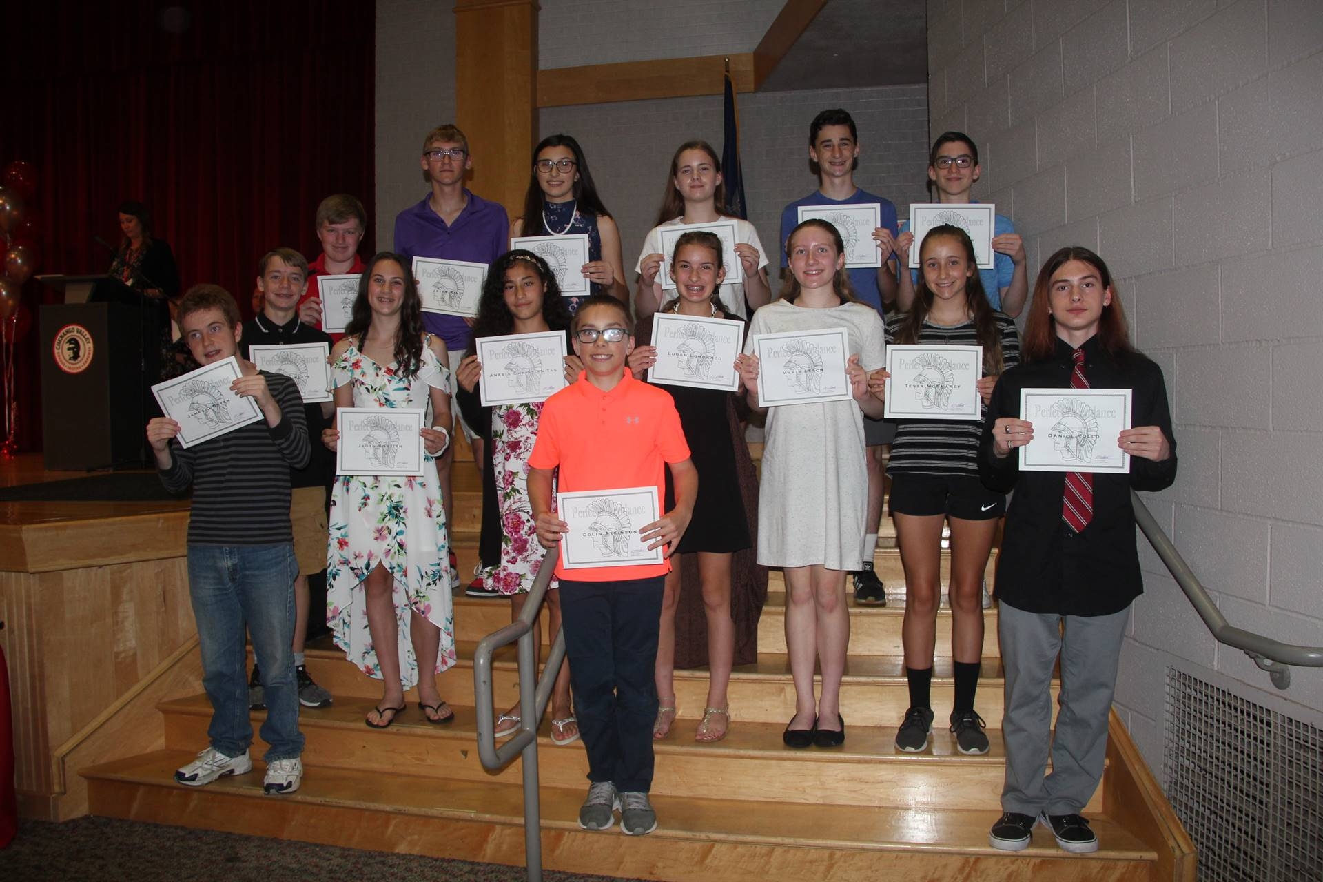 Eighth Grade Moving Up Ceremony 38