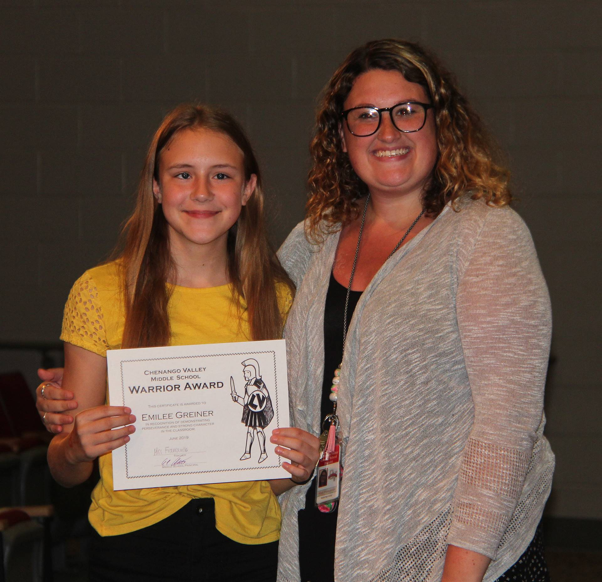 Eighth Grade Moving Up Ceremony 11