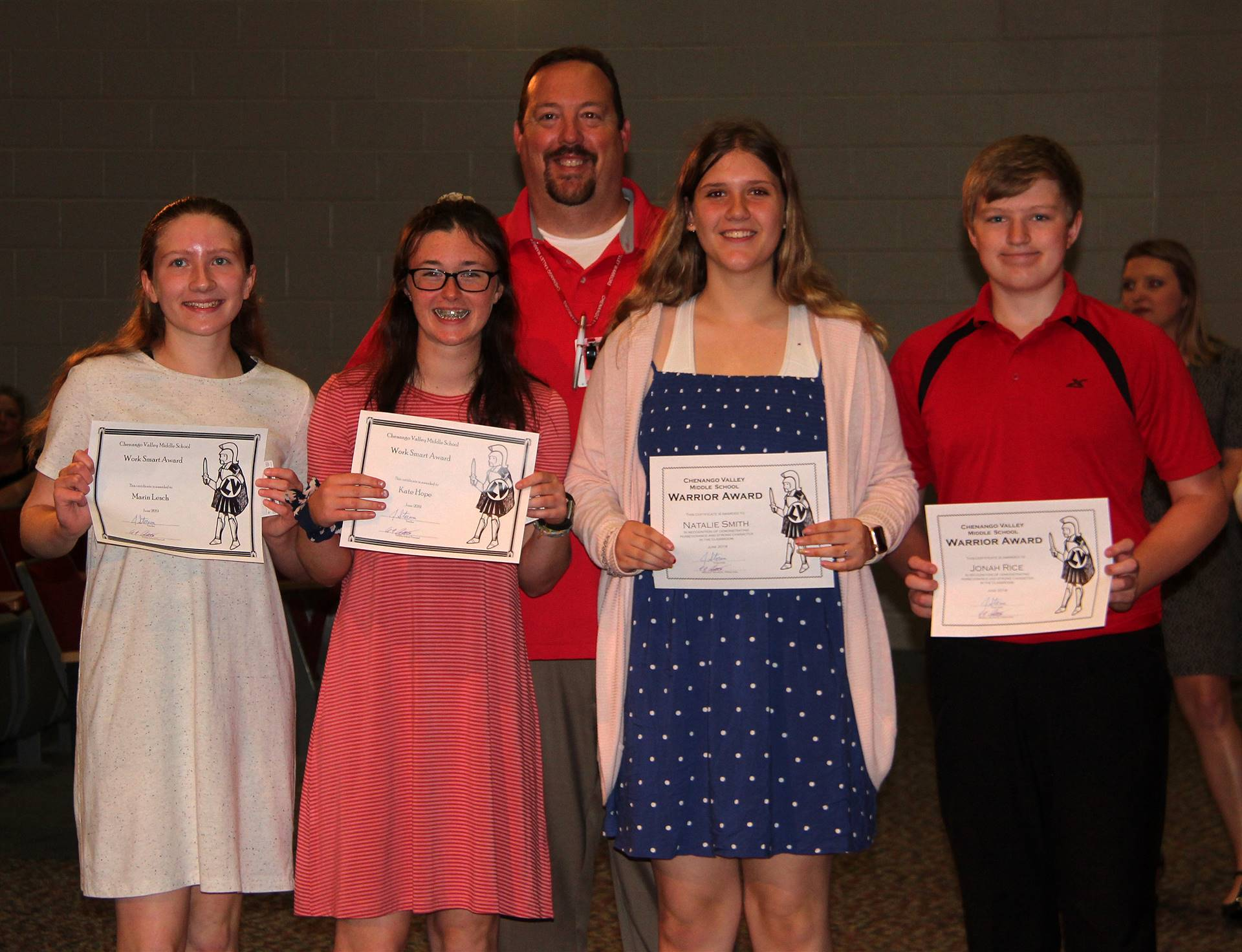 Eighth Grade Moving Up Ceremony 10