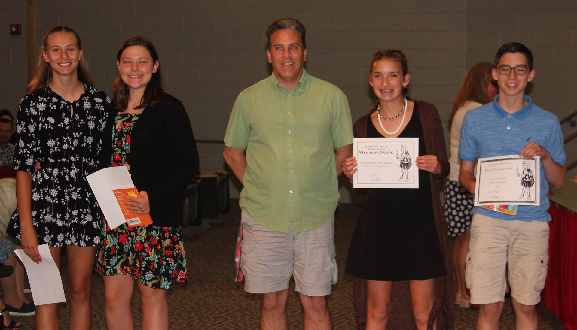 Eighth Grade Moving Up Ceremony 9