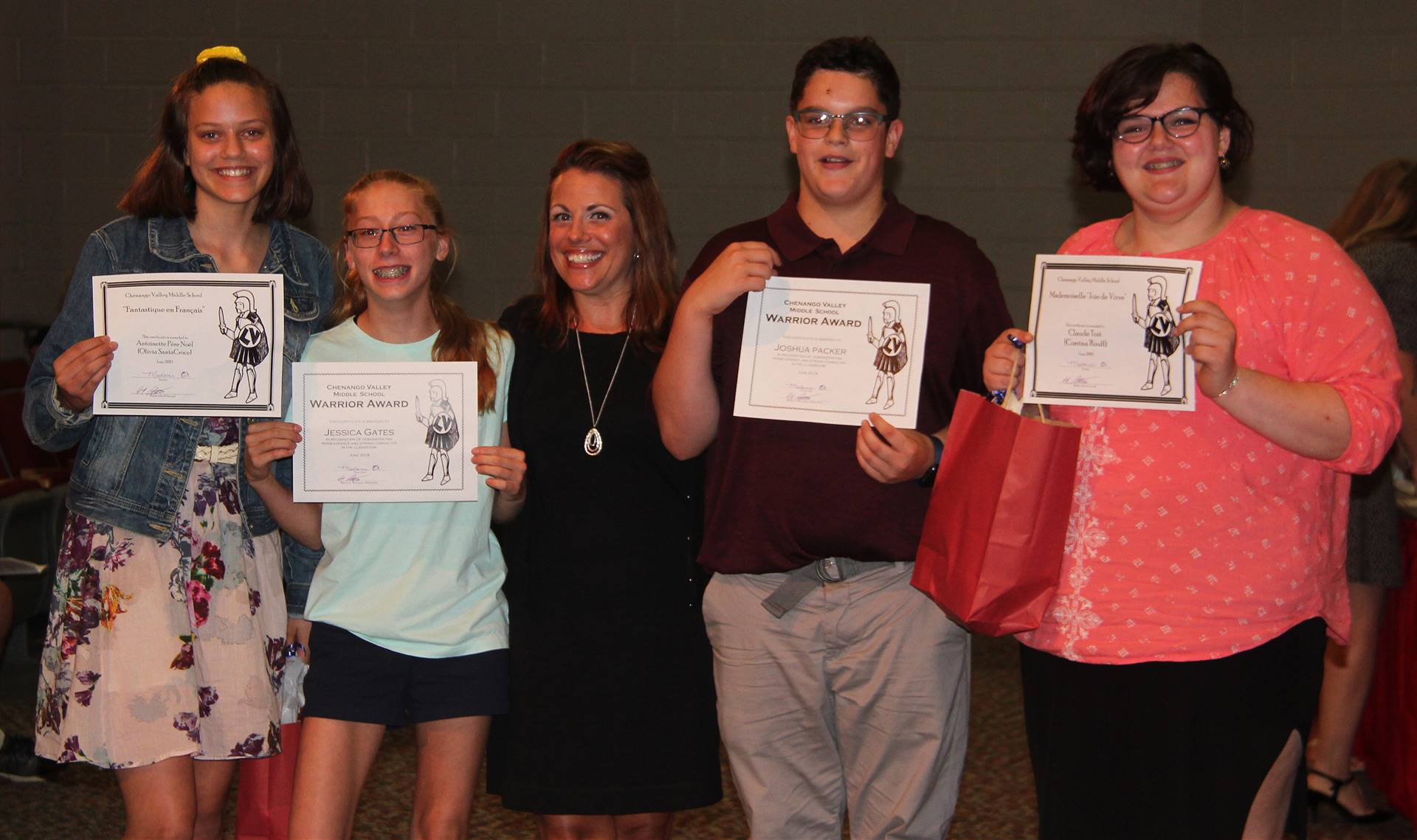 Eighth Grade Moving Up Ceremony 7