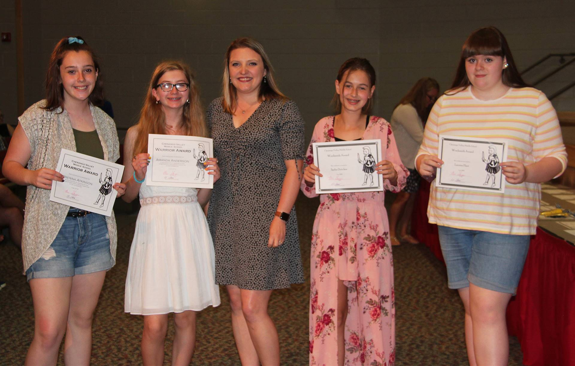 Eighth Grade Moving Up Ceremony 5