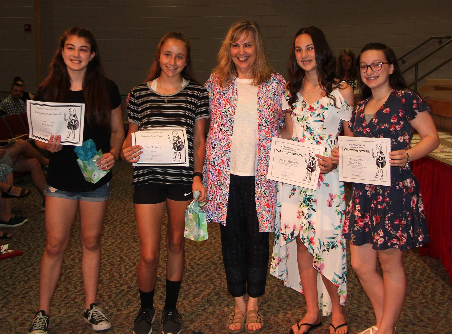 Eighth Grade Moving Up Ceremony 3