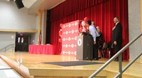 Eighth Grade Moving Up Ceremony 1