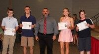 Eighth Grade Moving Up Ceremony 13