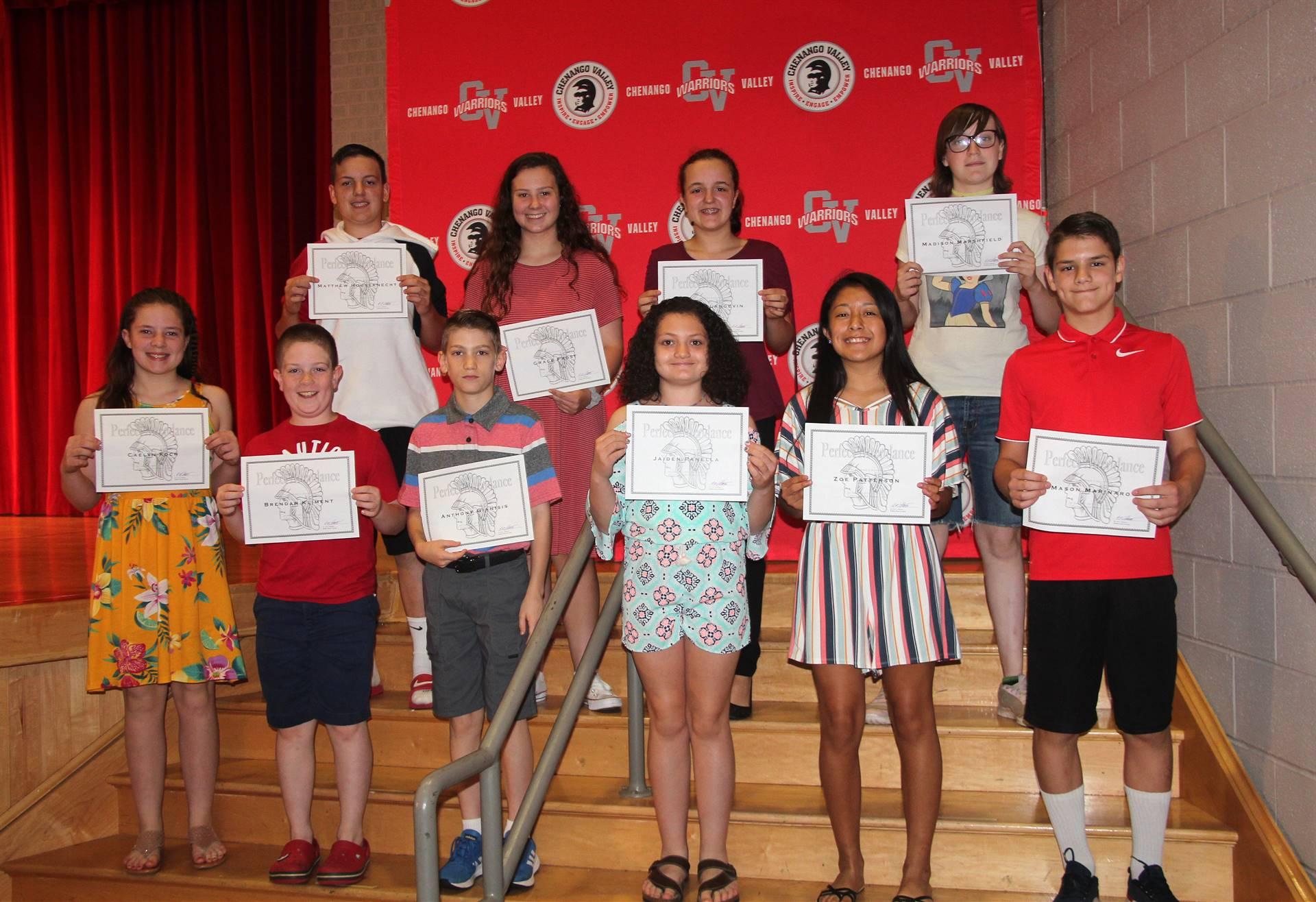 Sixth and seventh grade awards 49