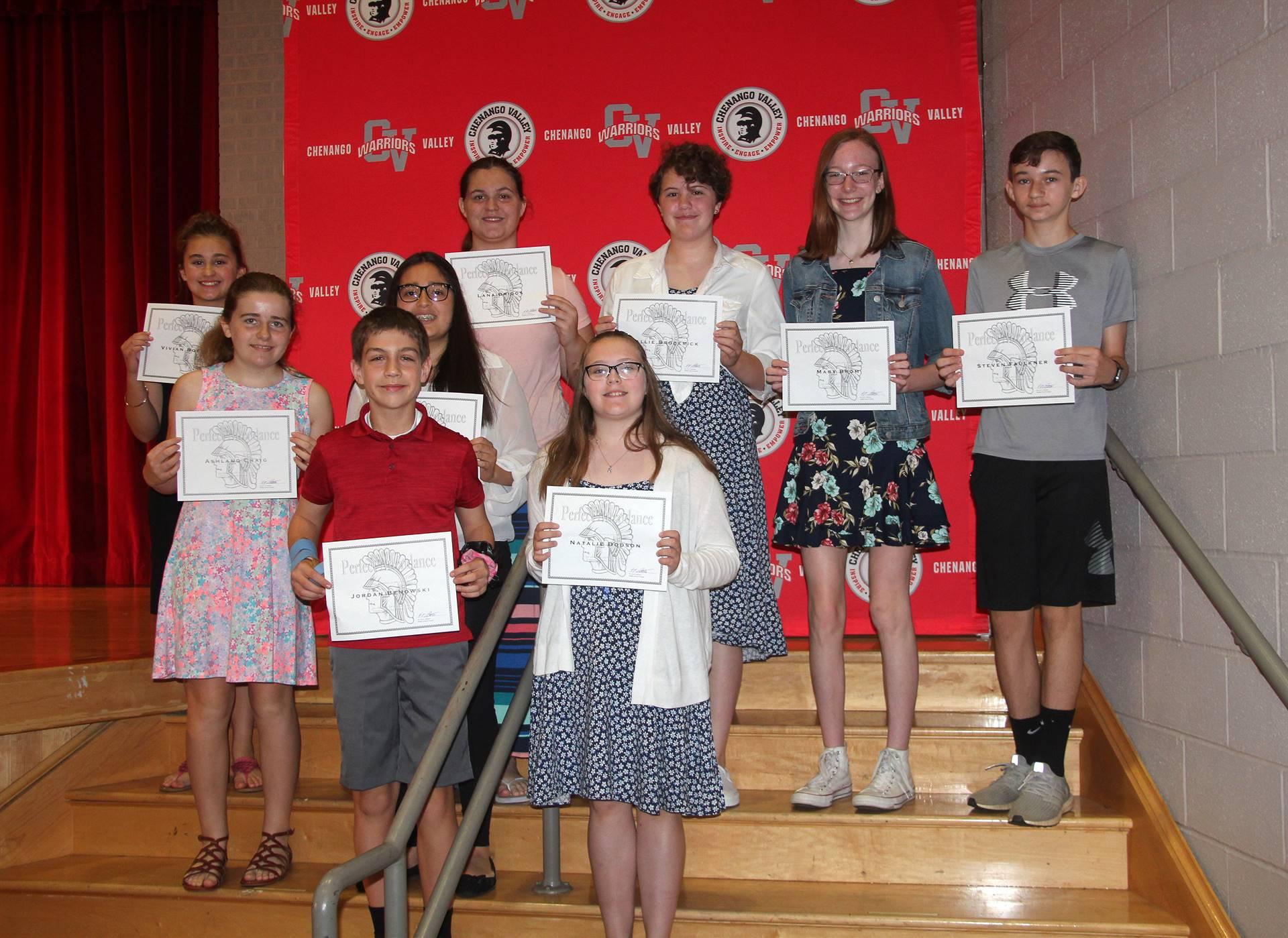Sixth and seventh grade awards 48