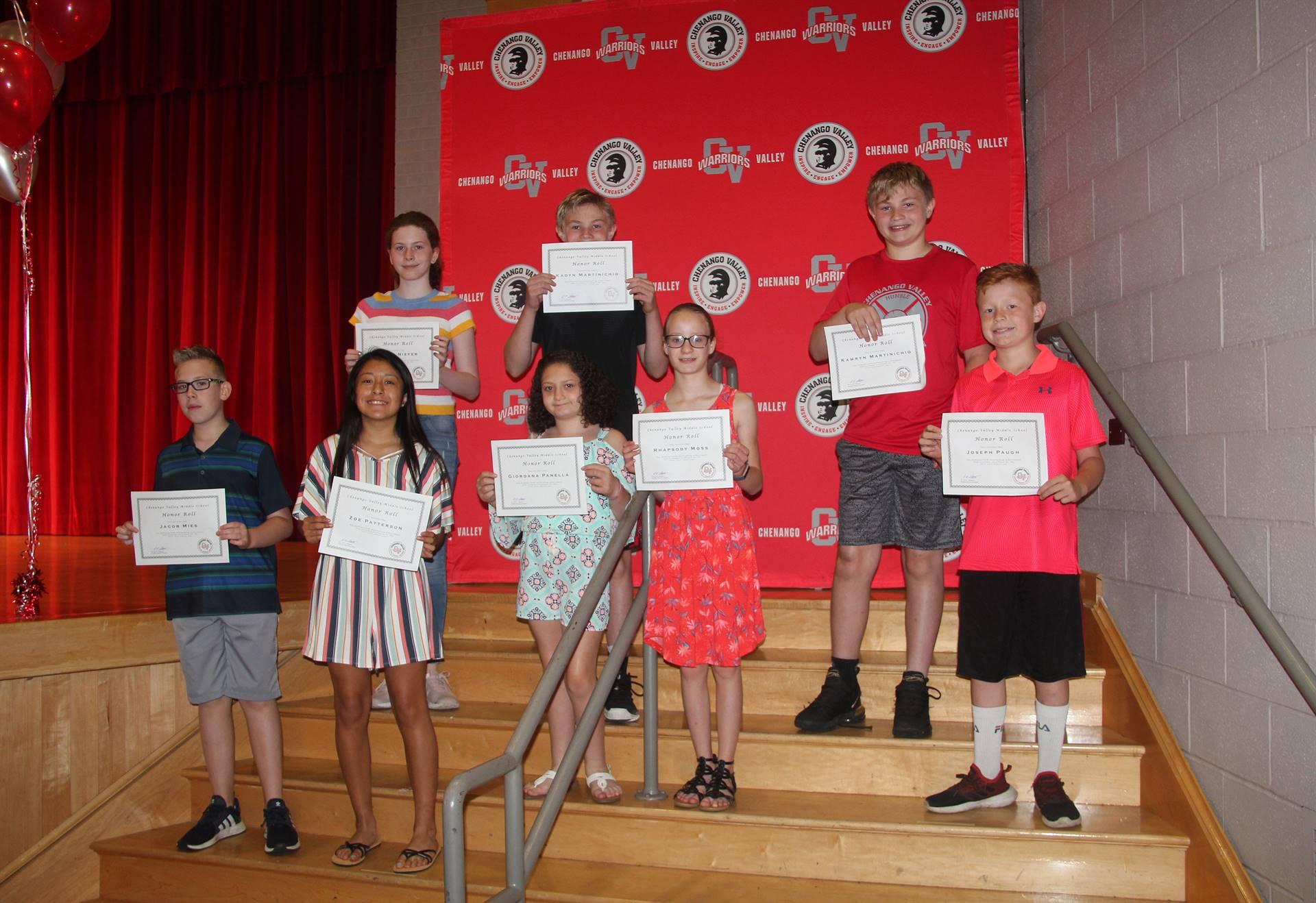 Sixth and seventh grade awards 44