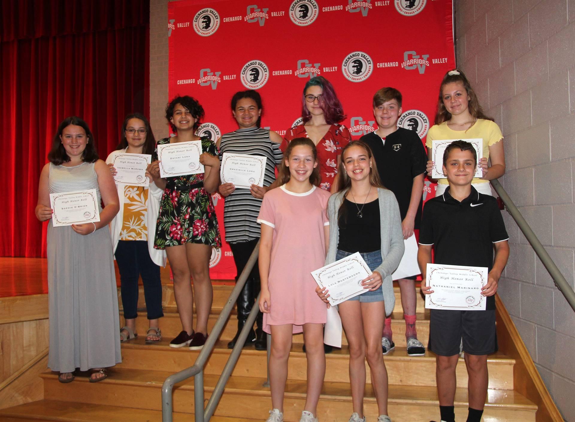 Sixth and seventh grade awards 35