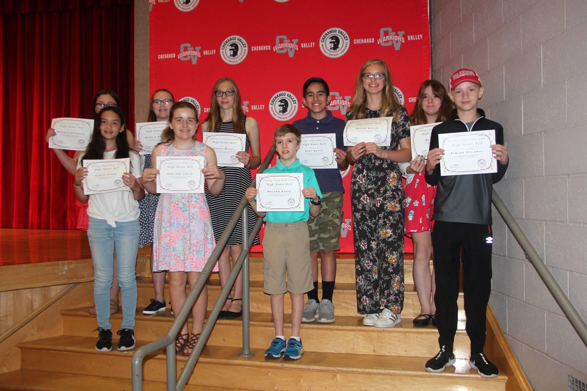 Sixth and seventh grade awards 32