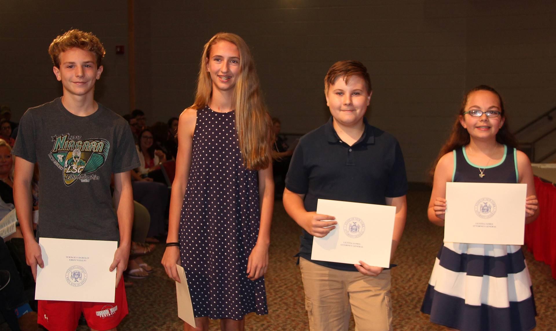 Sixth and seventh grade awards 29