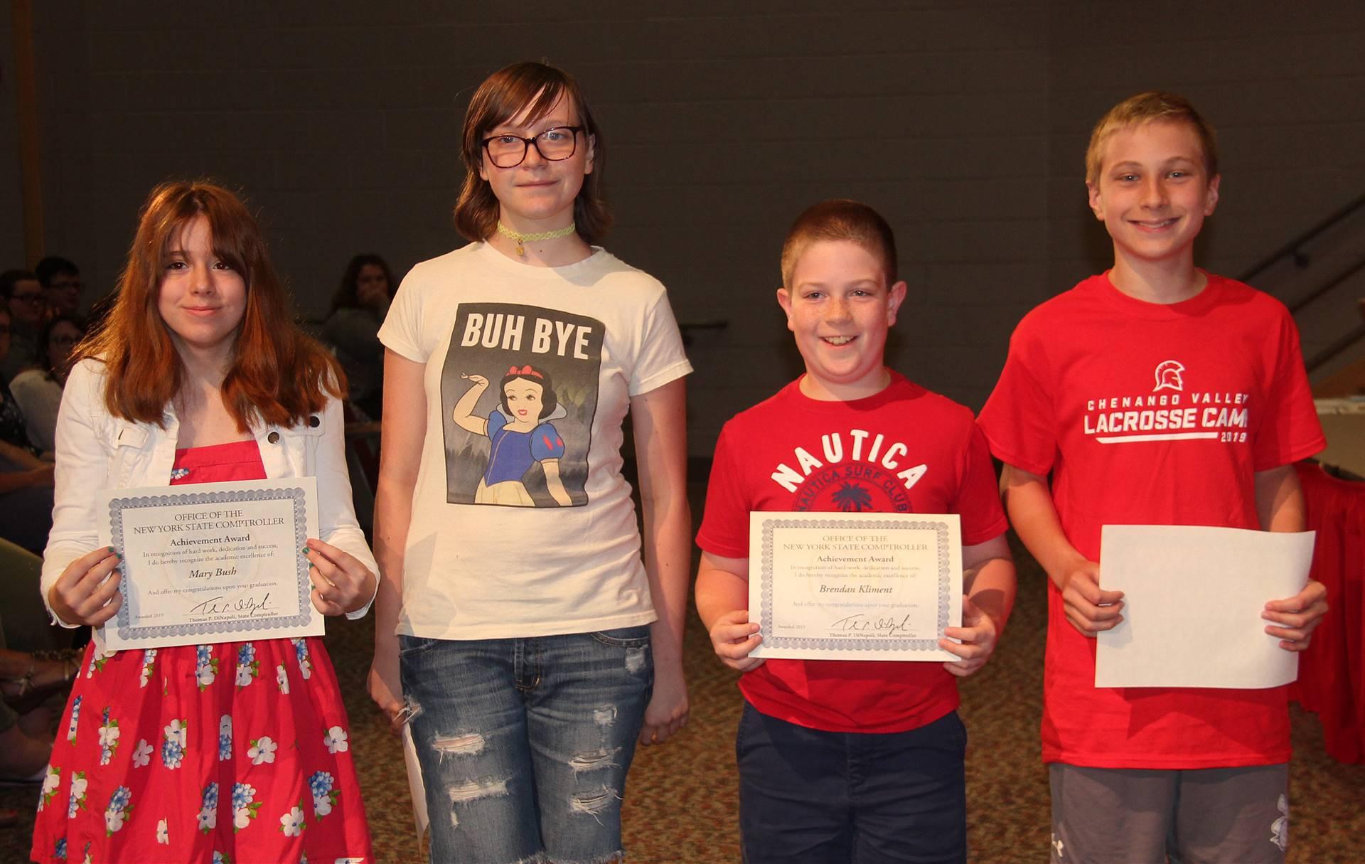 Sixth and seventh grade awards 28