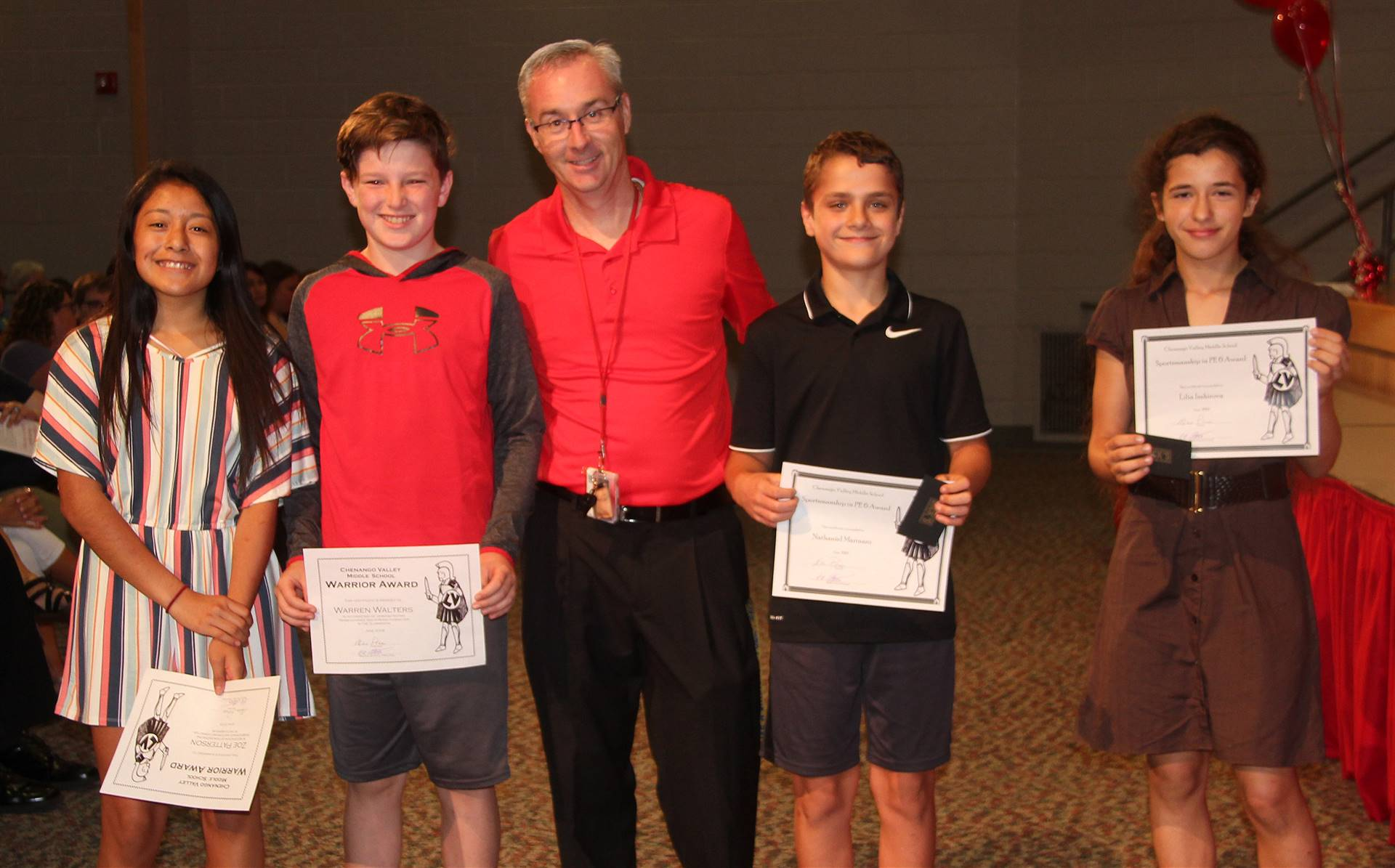 Sixth and seventh grade awards 26