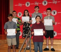 Sixth and seventh grade awards 41