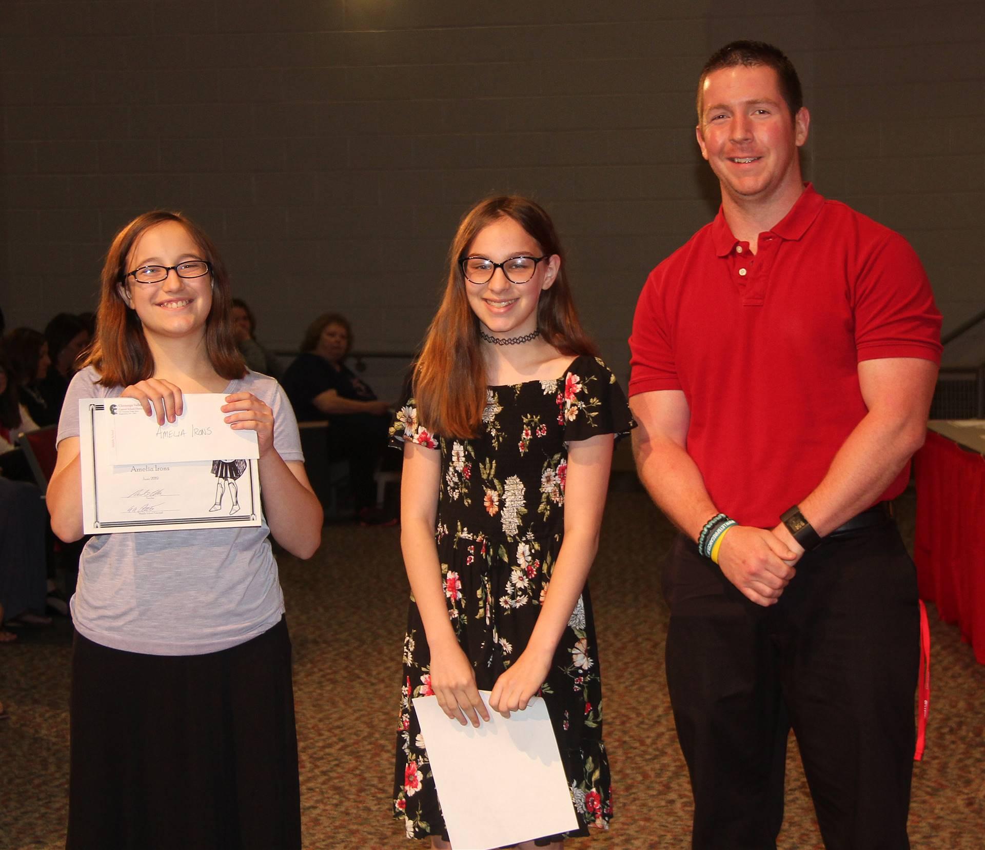 Sixth and seventh grade awards 24