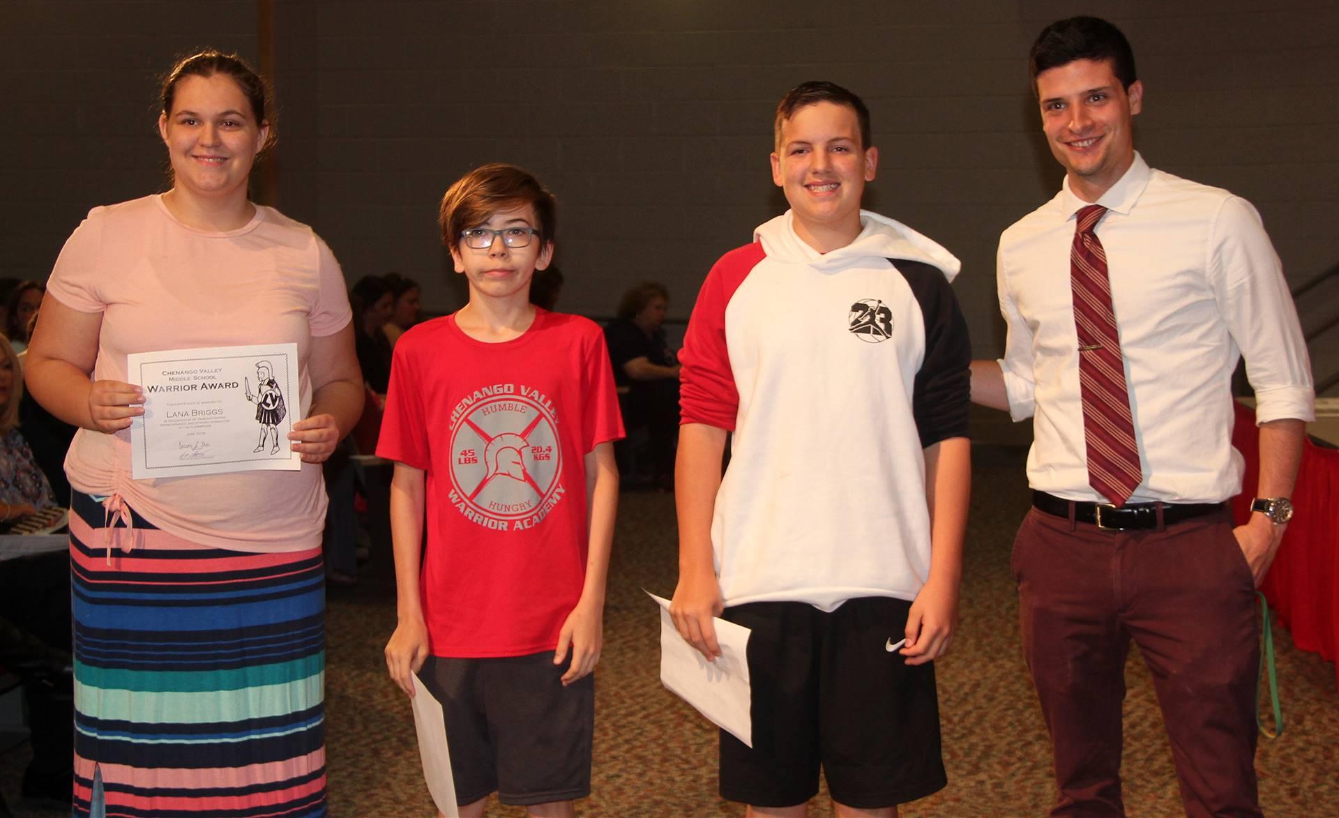 Sixth and seventh grade awards 23