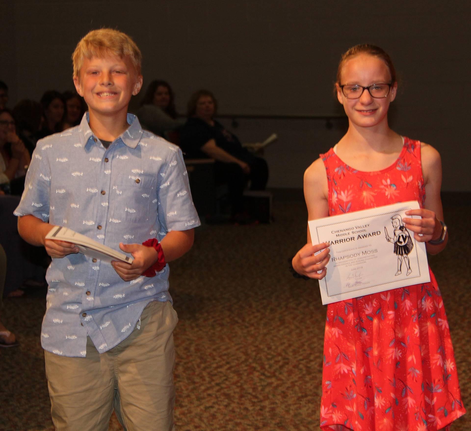 Sixth and seventh grade awards 21