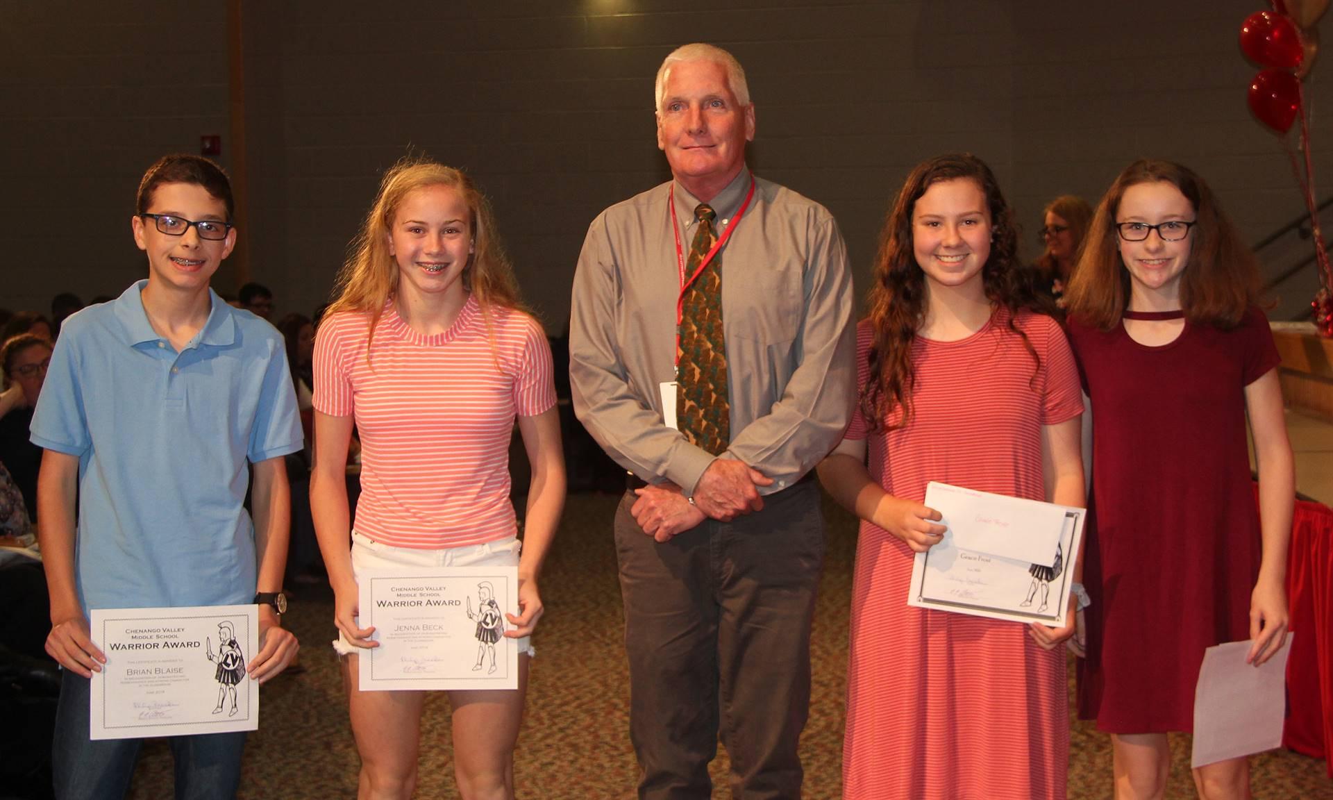 Sixth and seventh grade awards 18