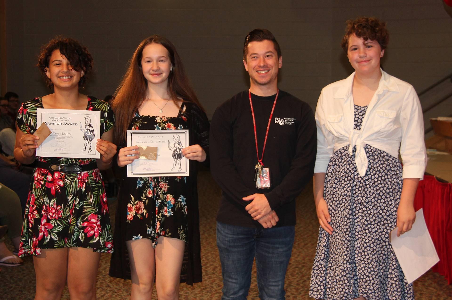 Sixth and seventh grade awards 15