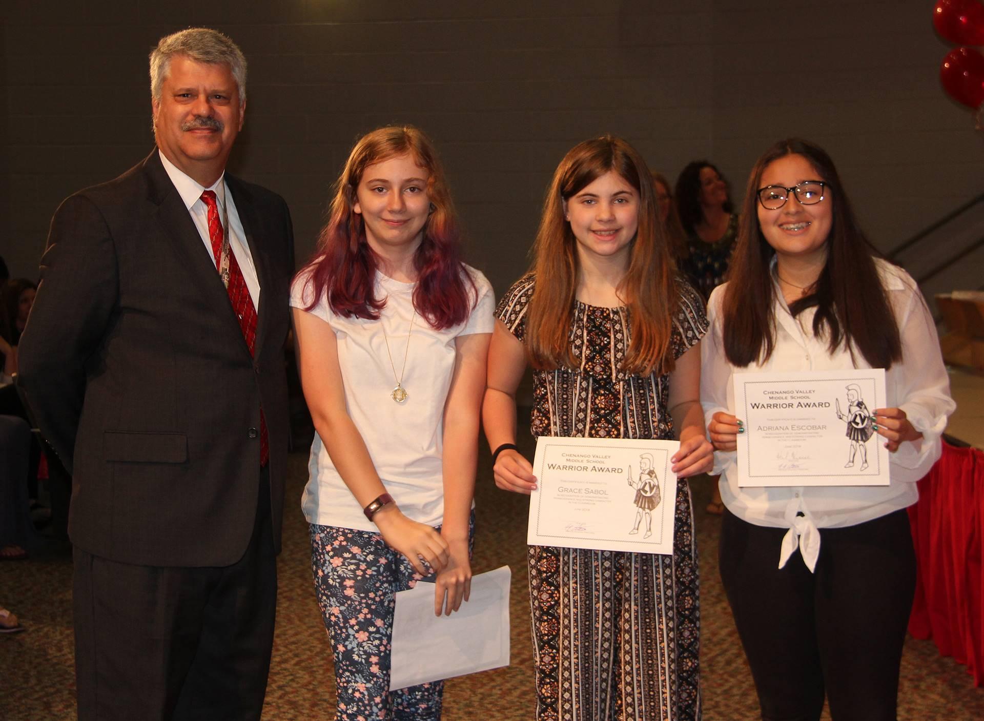 Sixth and seventh grade awards 13