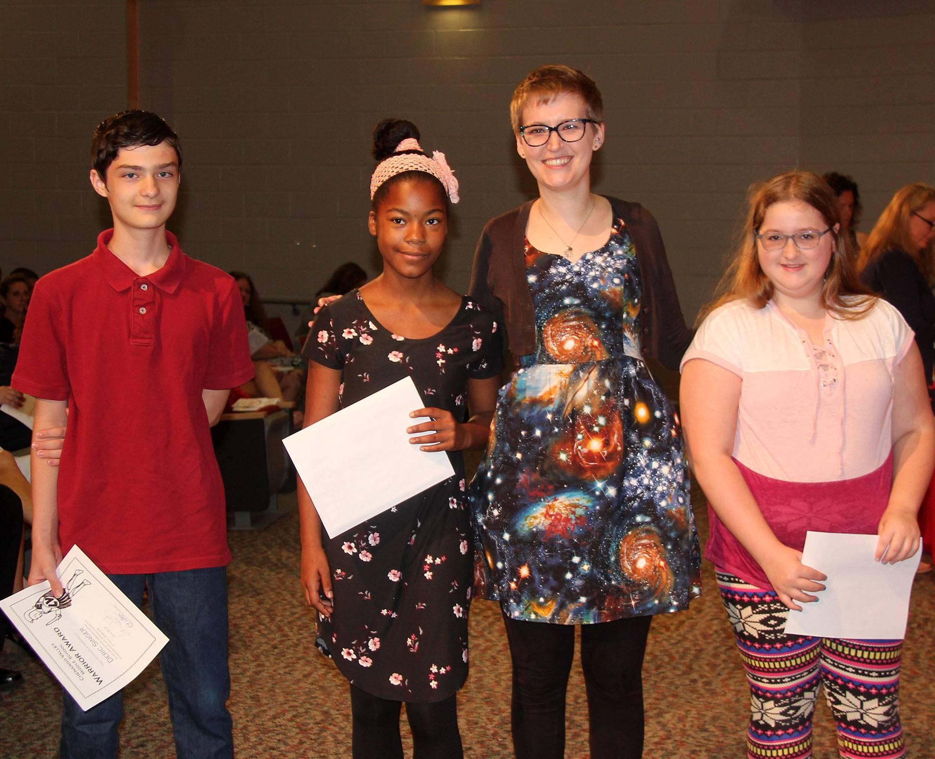 Sixth and seventh grade awards 8