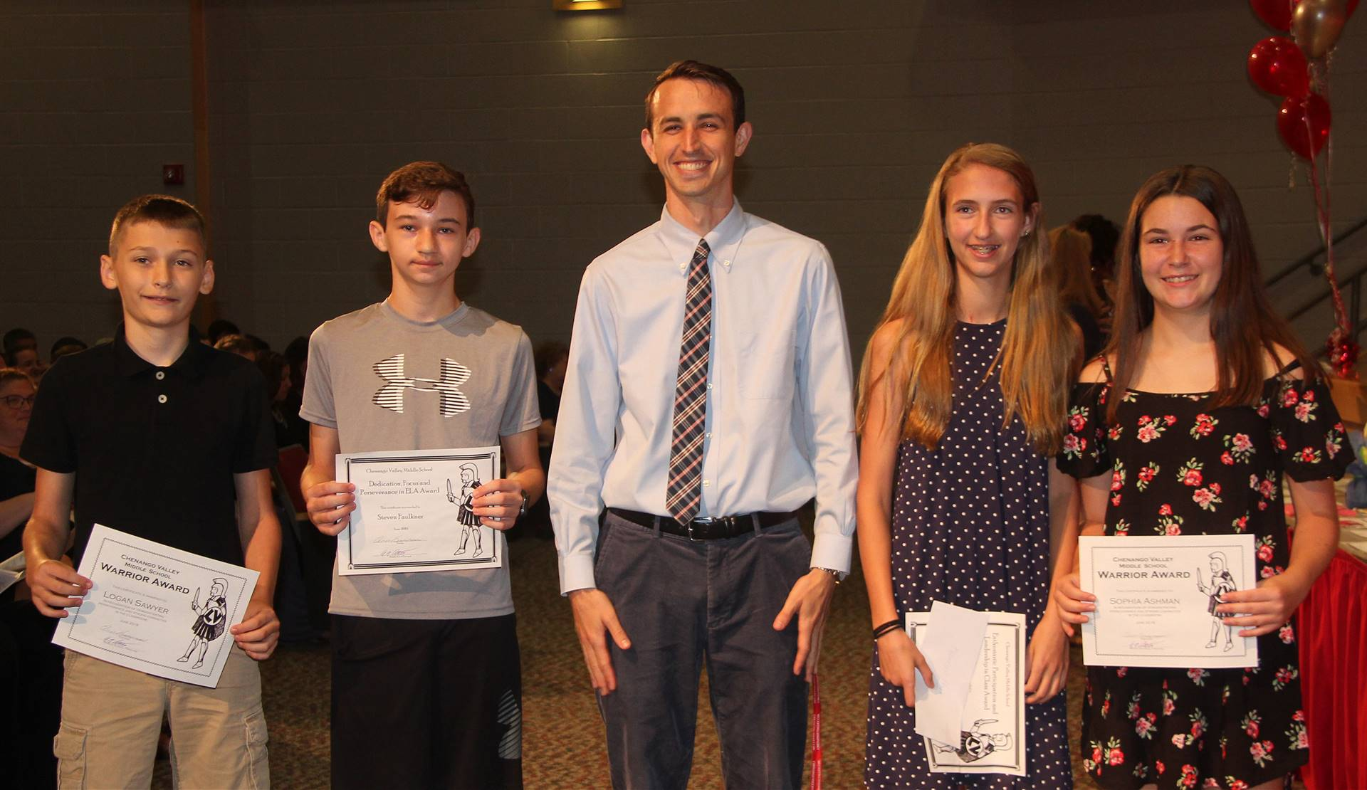 Sixth and seventh grade awards 7
