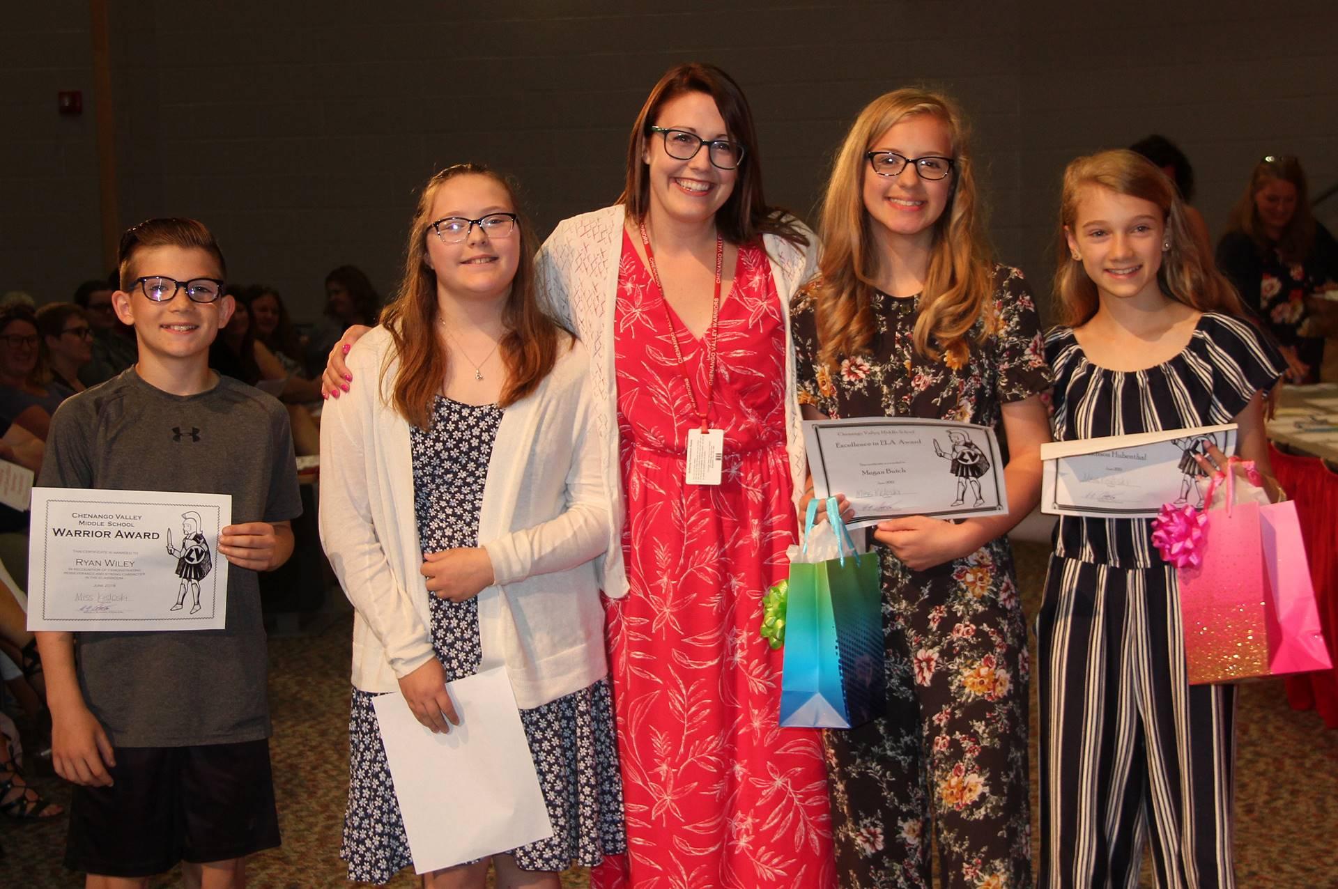 Sixth and seventh grade awards 3