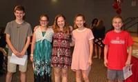 Sixth and seventh grade awards 11