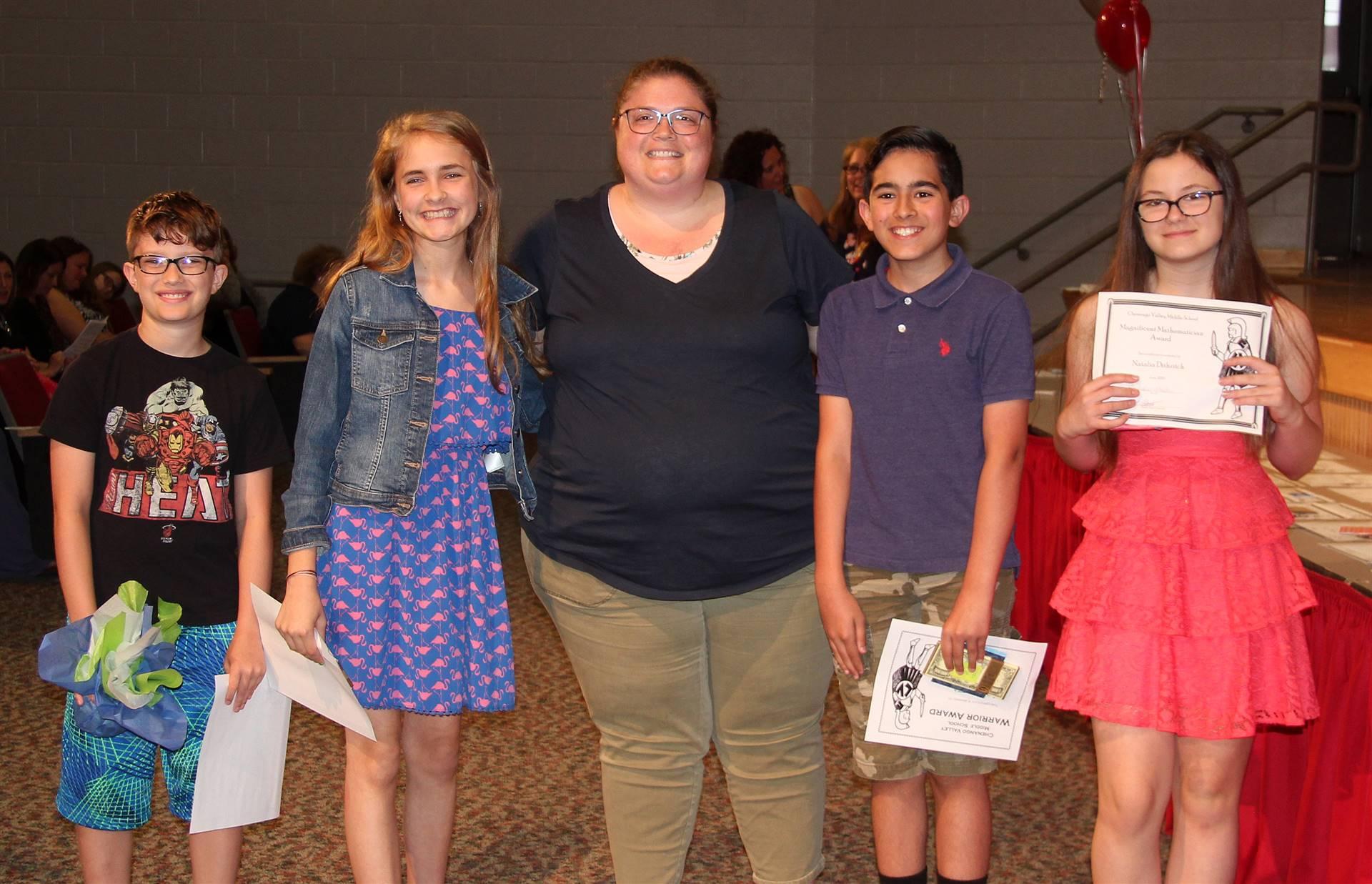 Sixth and seventh grade awards 10