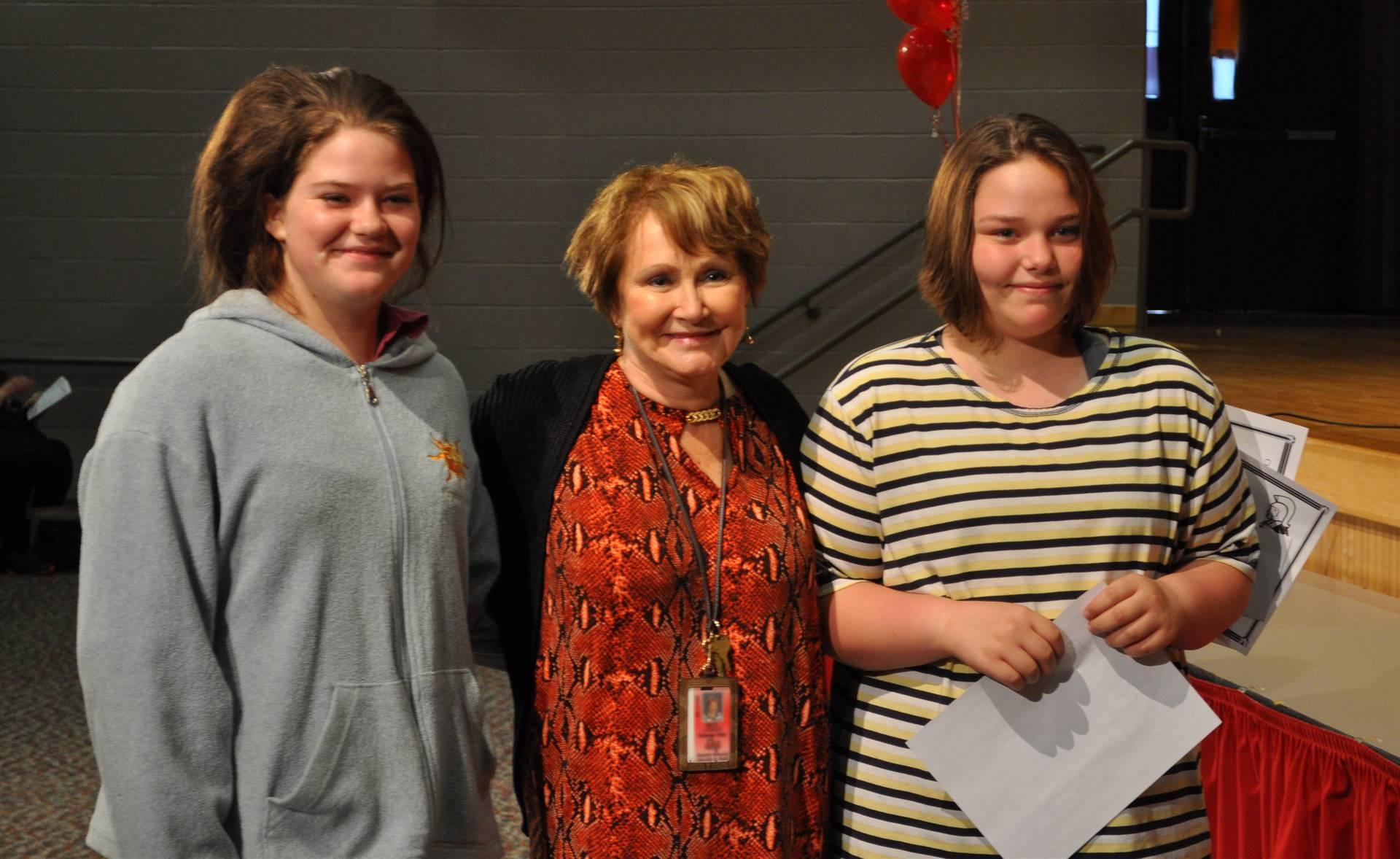 Sixth and seventh grade awards 22