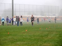 people at cross country race