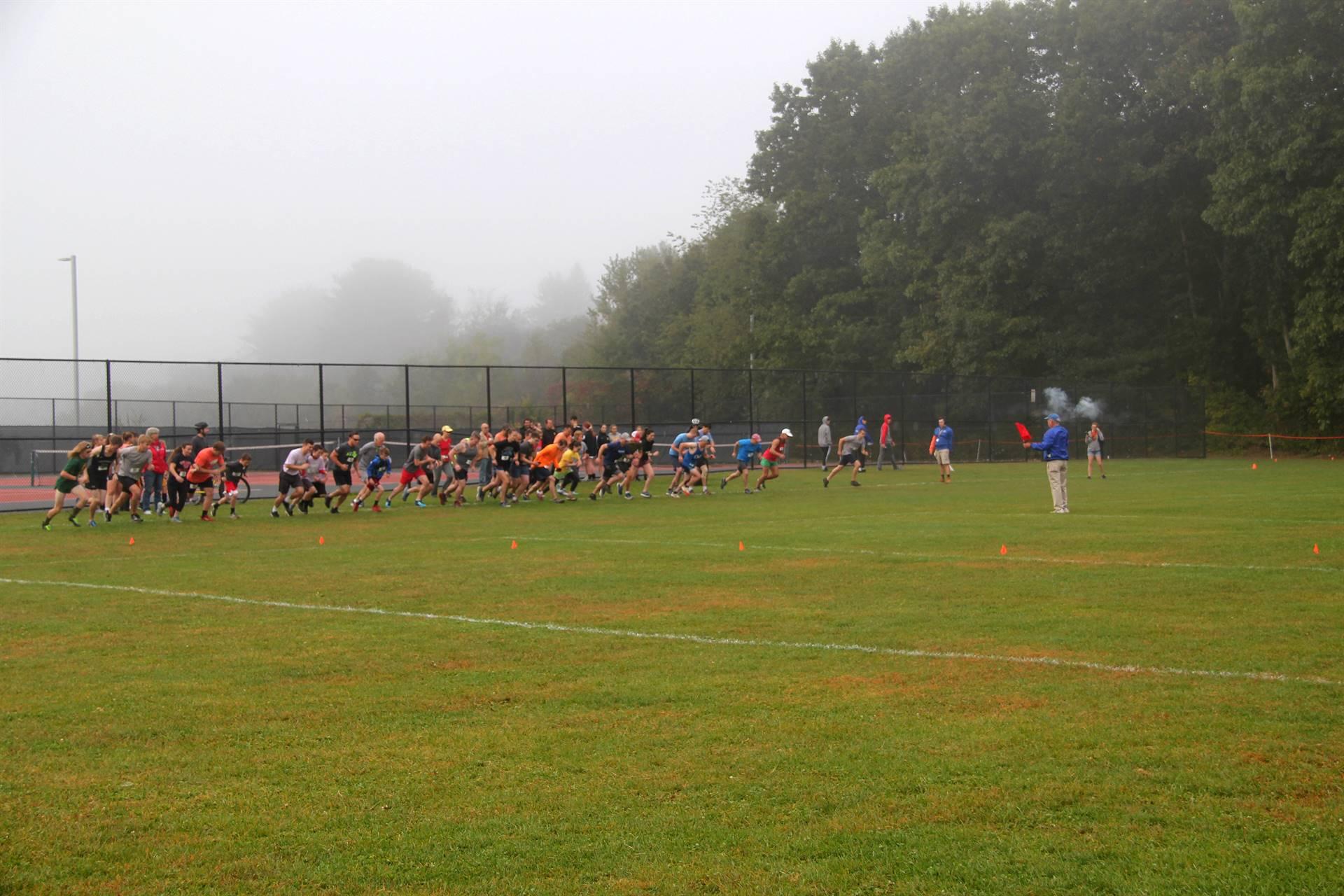 community runners running